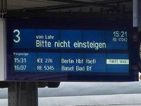 Notfahrplan: So läuft's für Bahnreisende ab Montag