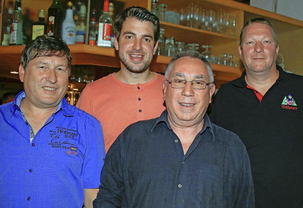 Die vier neugewählten und gleichberech...einz Schandelmeier und Werner Spanjer.    Foto: Sandra Decoux-Kone
