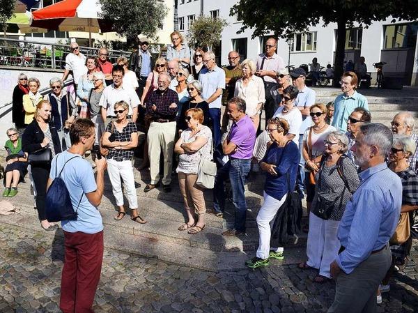 Ferienaktion zur Geologie in der Oberen Altstadt