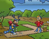 Spaß im Adventure Minigolf Park