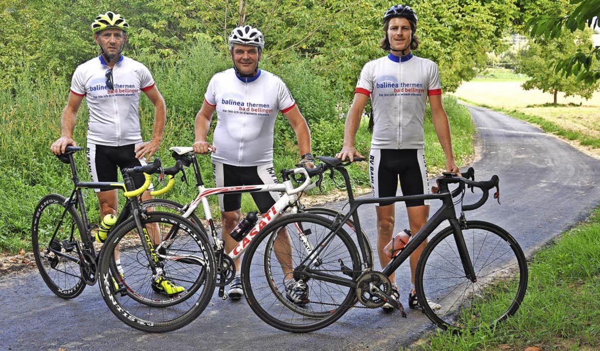 Mit einem Zeitfahren wird der neue Rad... Radstrecke, die nach Hertingen führt.  | Foto: Jutta Schütz