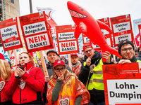Gewerkschaften fordern den Staat, die Tarifflucht zu beenden