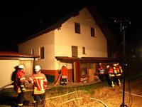 Egringen: Elektrischer Defekt an der Heizanlage führt zu Kellerbrand
