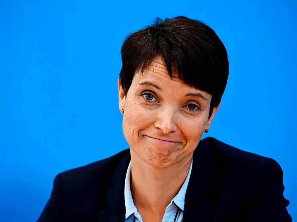 Frauke Petry  | Foto: AFP