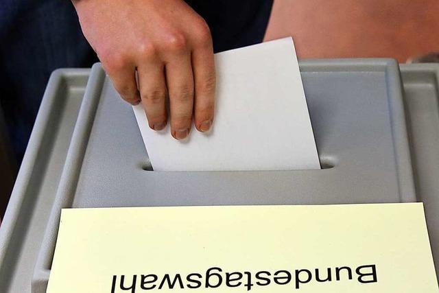 Acht Kandidaten bewerben sich ums Direktmandat