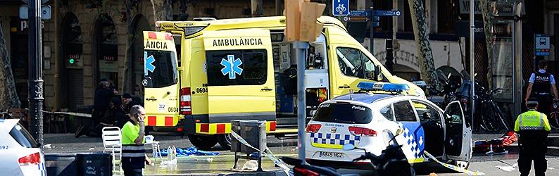 Terroranschlag: Kleintransporter fährt in Barcelona in Menschenmenge - Tote und Verletzte