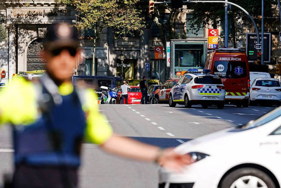 Auf Barcelonas Flaniermeile Las Ramblas hat es einen Terroranschlag gegeben. (Foto: AFP)