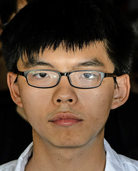 Hongkong wirft Studentenführer ins Gefängnis
