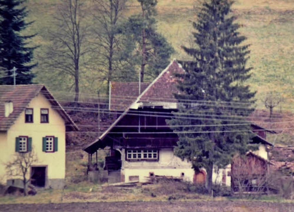 Der alte Schwörerhof  | Foto: Privat