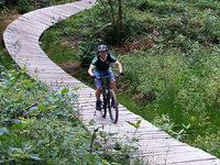 Wie fährt sich die neue Mountainbike-Trainingsstrecke in Kirchzarten?