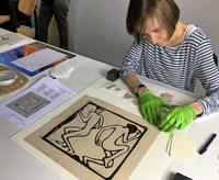 Zu Besuch in der Gurlitt-Werkstatt des Kunstmuseums Bern