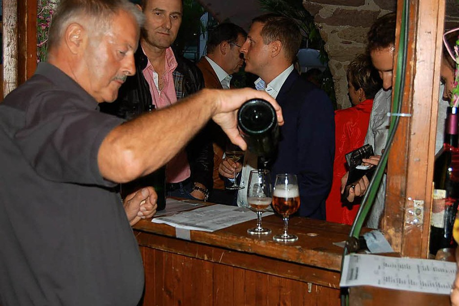 Fröhlich und friedlich war die Stimmung beim Weinfest. (Foto: Christian Ringwald)
