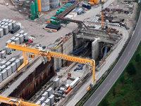 Sperrung der Rheintalbahn könnte Wochen dauern