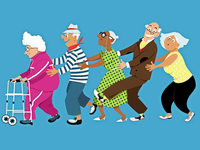 Mehr Menschen ziehen in Senioren-WGs
