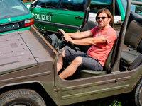 Der Lahrer Florian Lemke sammelt Autos und verleiht sie an Filmemacher