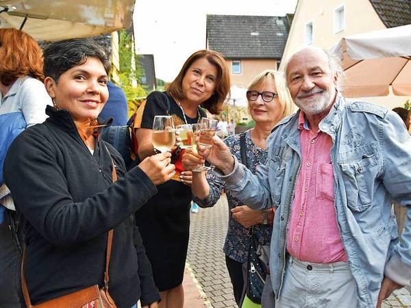 Gemütlich und überschaubar waren die Weintage in Ebringen. Genau hierin liegt seit nunmehr 43 Jahren ihr Reiz. Je später, desto gemütlicher wurde es.