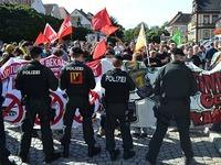 AfD-Demo trifft auf doppelt so viele Gegendemonstranten