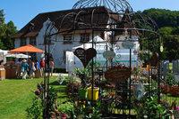 An die 6500 Besucher beim Gartenfestival in Inzlingen