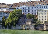 Der Terrassengarten der alten Uni Basel ist wieder zugänglich