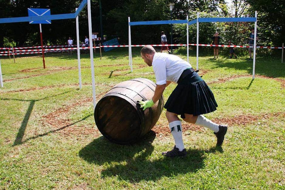 Weinfassslalom für Fortgeschrittene (Foto: Hans Jürgen Kugler)