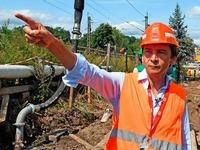 Bahn flutet Tunnelabschnitt mit 10.000 Kubikmeter Beton
