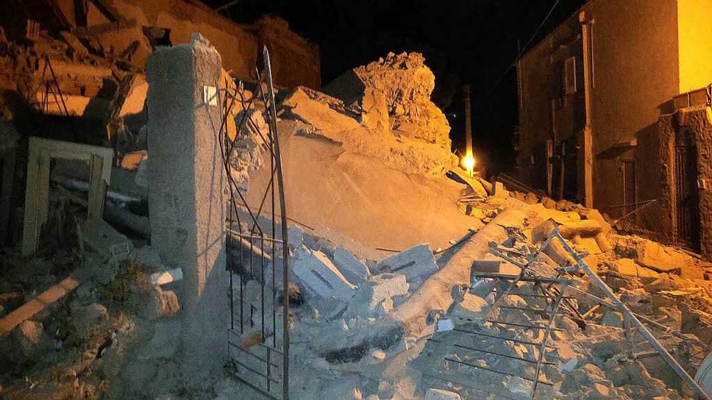 Italienische Urlaubsinsel | Eine Tote, 25 Verletzte nach Erdbeben auf Ischia