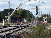 Rheintalstrecke bleibt bis zum 7. Oktober gesperrt