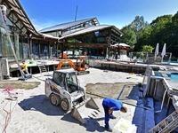 Saniertes Keidel-Bad öffnet zunächst ohne Außenbecken