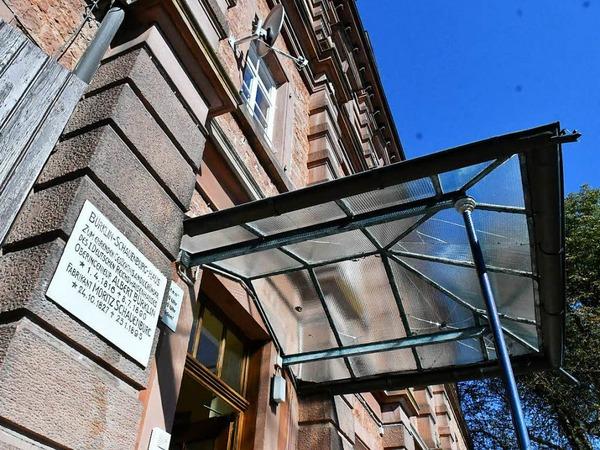 Jörg Uffelmann öffnete die Türen des ehemaligen Reichswaisenhauses am Altvater.