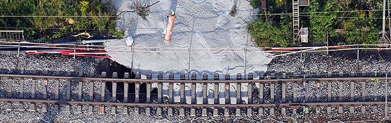 Tunneleinbruch: Karlsruher Experte wirft Bahn Fehler vor