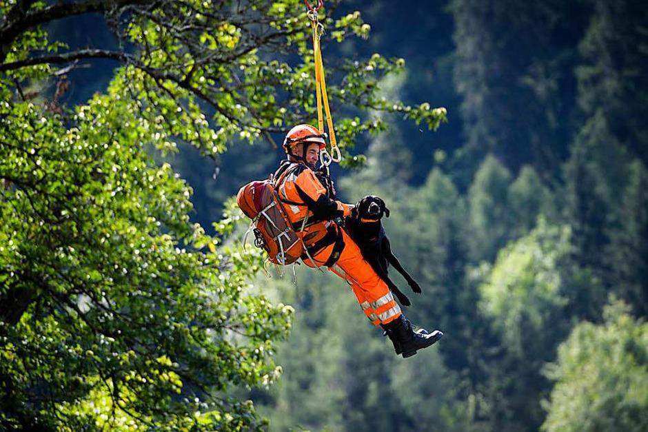 Im Schweizer Kanton Graubünden ist eine gewaltige Gerölllawine vom Piz Cengalo abgegangen. (Foto: dpa)