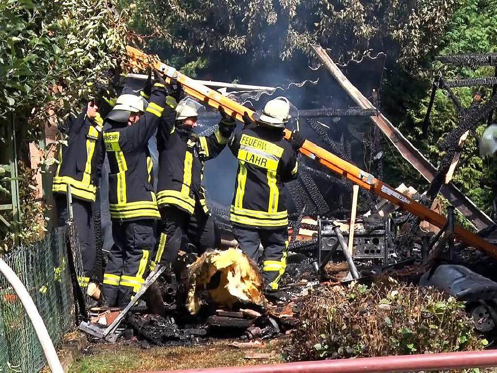 50000 euro schaden bei scheunenbrand in kuhbach lahr badische zeitung. Black Bedroom Furniture Sets. Home Design Ideas