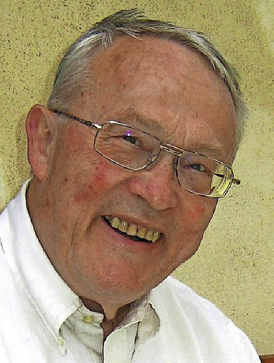 Pfarrer Neuhöfer   | Foto:  Lange
