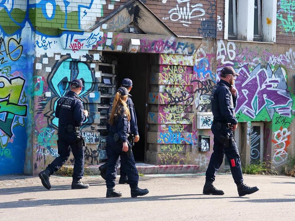 Durchsuchung bei der KTS in Freiburg  | Foto: Patrick Kerber
