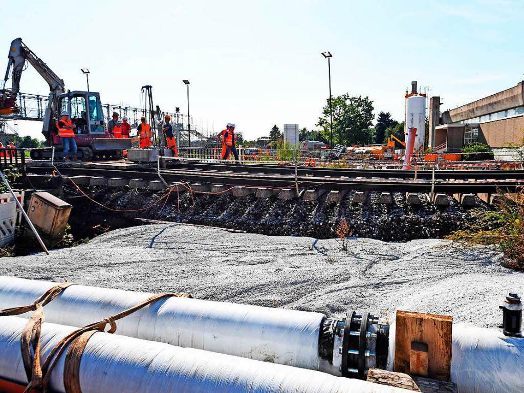 Bahn will Betonfüllung des kaputten Tunnels in Rastatt abschließen