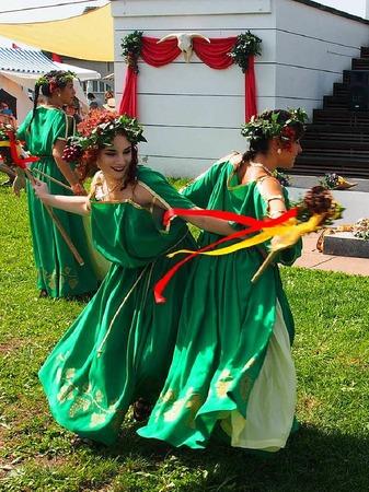 Bacchus-Tanz auf dem Forum