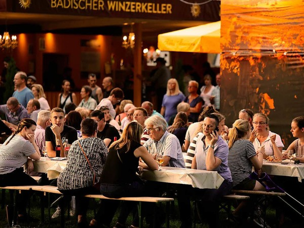 Impressionen vom Breisacher Weinfest