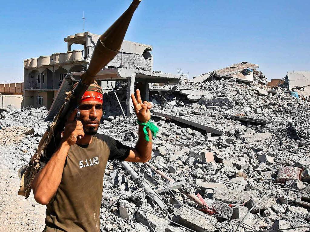 Irakische Streitkräfte besetzten Zentrum der IS-Hochburg Tal Afar - EXKLUSIV