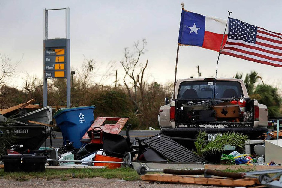 """Sturm """"Harvey"""" hat in Texas gewütet. (Foto: dpa)"""