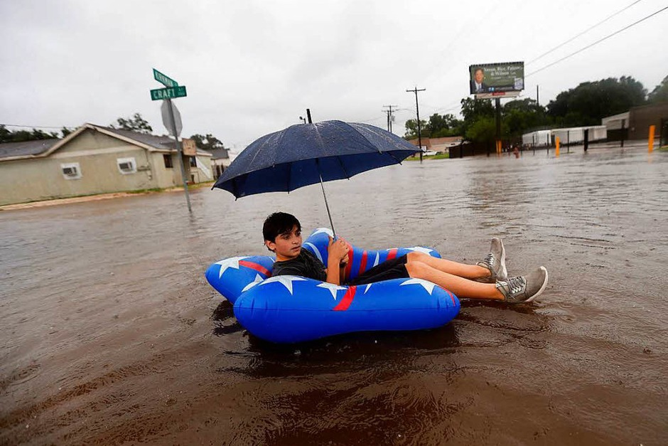 "Sturm ""Harvey"" hat in Texas gewütet. (Foto: dpa)"