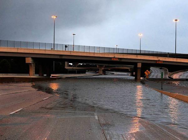 "Sturm ""Harvey"" hat in Texas gewütet."