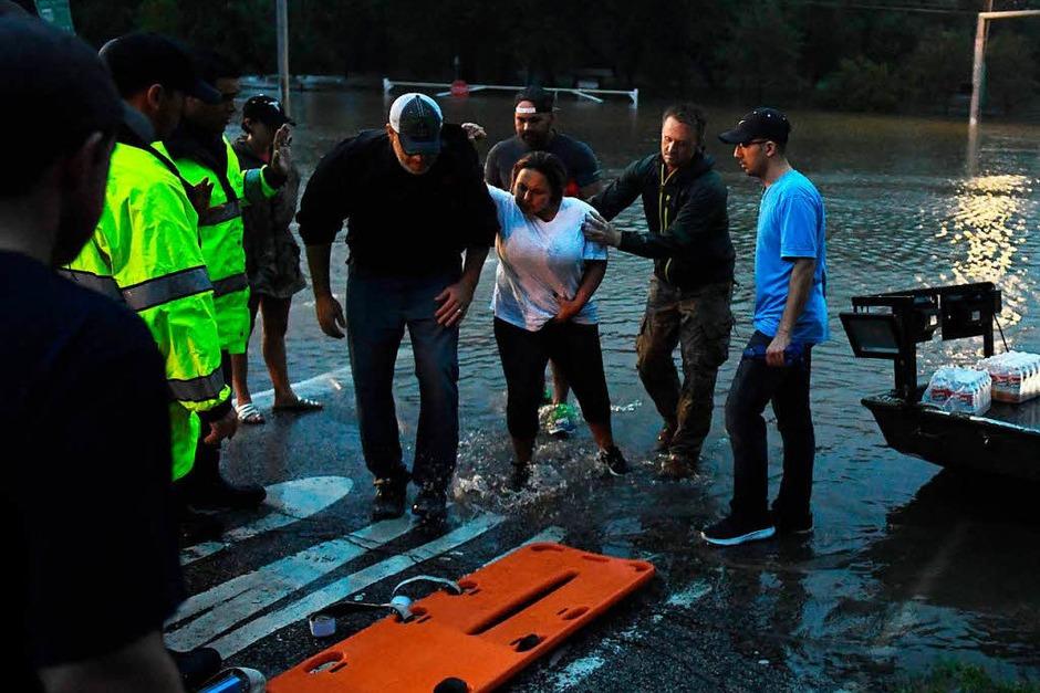 "Sturm ""Harvey"" hat in Texas gewütet. (Foto: AFP)"