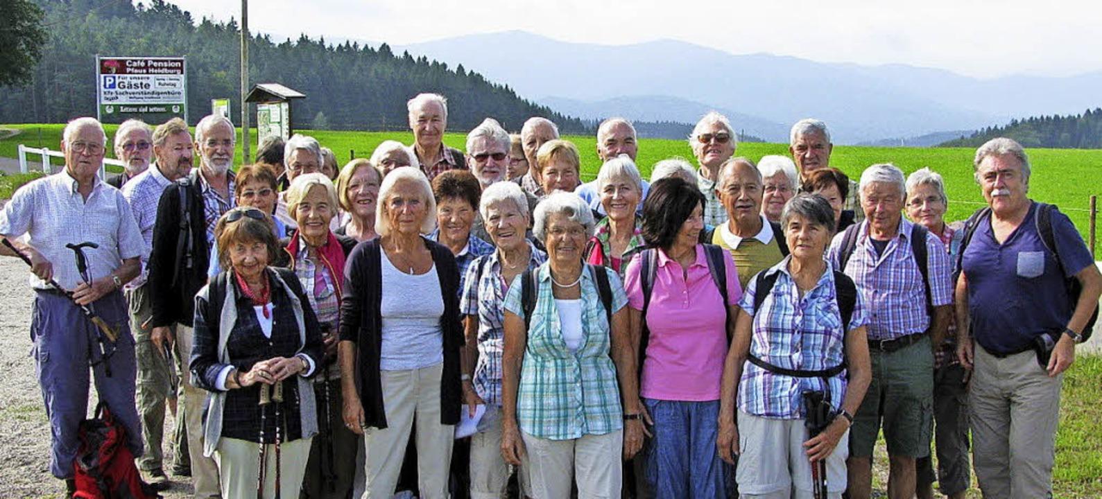 Gut besucht war die erste Tour von Monika Jenc im Kinzigtal.   | Foto: Verein/ Max Schuler