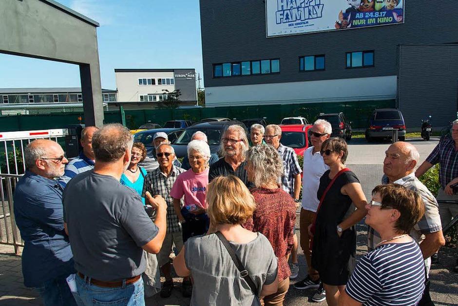 Die Leserinnen und Leser der Badischen Zeitung besuchten das Logistikzentrum des Europa-Parks. (Foto: Olaf Michel)
