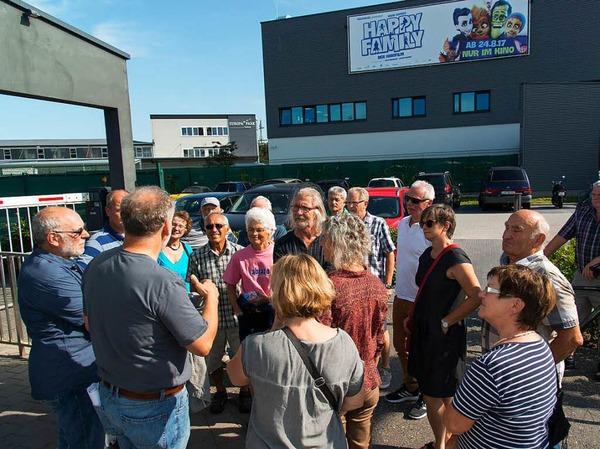 Die Leserinnen und Leser der Badischen Zeitung besuchten das Logistikzentrum des Europa-Parks.