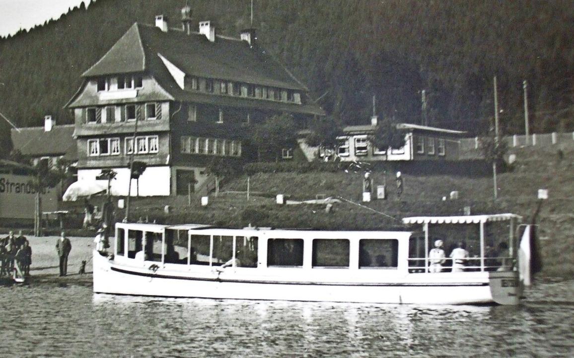 Kurs auf den Auerhahn in Aha, das Foto entstand  um 1935.  | Foto: privat