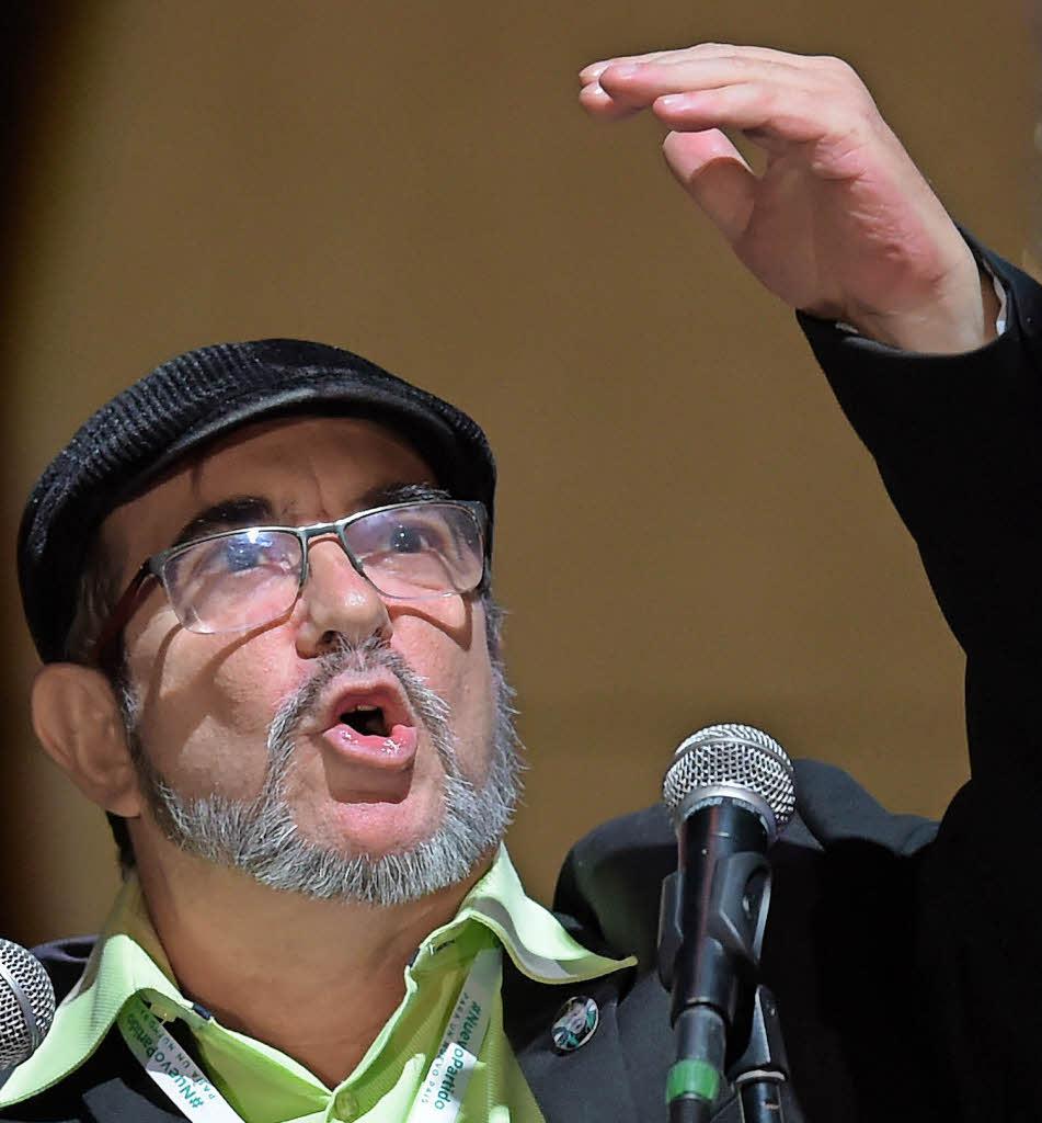 Ex-Guerilla-Gruppe will auch als Partei Farc heißen
