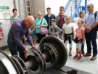 B. Zettis Ferienspaß: Besichtigung der DB-Regio-Werkstatt in Freiburg
