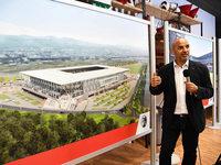 Architekt plant typisches Freiburg-Stadion