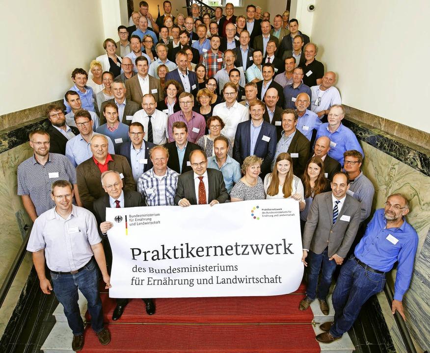 Geballtes praktisches Wissen in Sachen...s Bundeslandwirtschaftsministeriums     | Foto: Thomas Trutschel